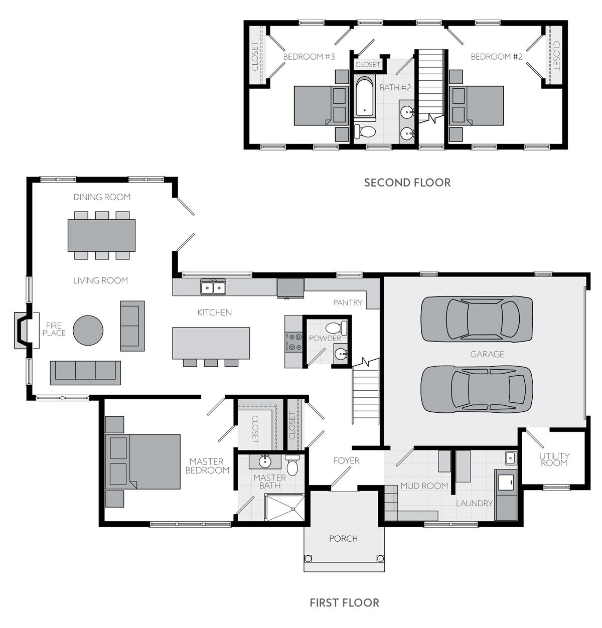 Ascent Floor Plans